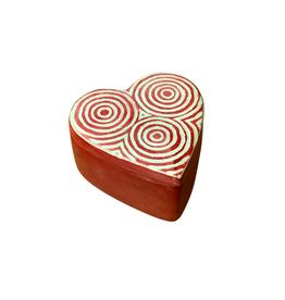 Kisii Heart Shaped Circle Treasure Box