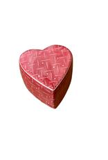Kisii Heart Shaped Lined Treasure Box