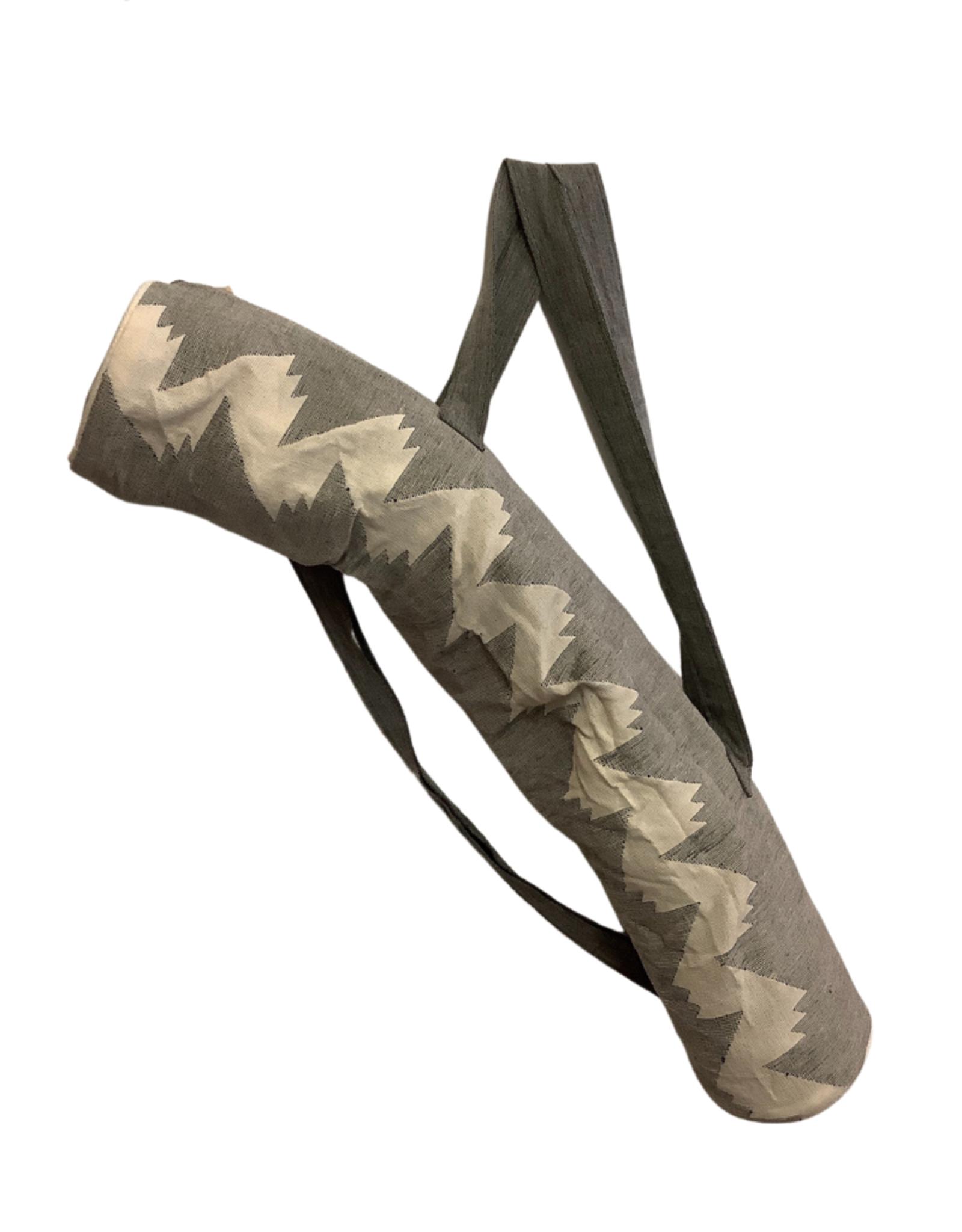 Yoga Bag BlackWhite w/Strap