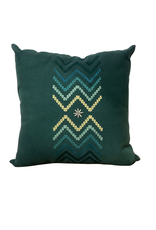 Chevron Embroidered Cushion Cover