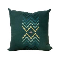 Chevron Embroidered Cushion Cover - Vietnam