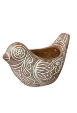 Terracotta Bird Planter