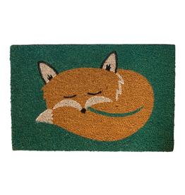 Snoozing Fox Doormat