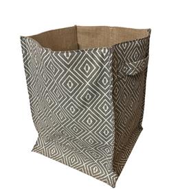 Geo Jute Basket (Large)