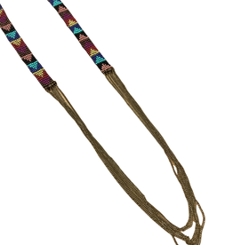 Ten Thousand Villages Beaded Band Necklace