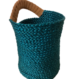 Life's A Beach Jute Carry Basket