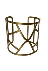 Brass Geo Cuff