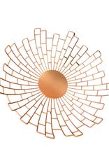 Rose Gold Sunburst Bowl
