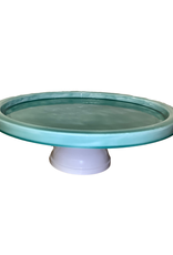 Turquoise Cake Stand