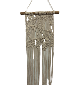 Wallhanging Macrame Natural/wood Hanger