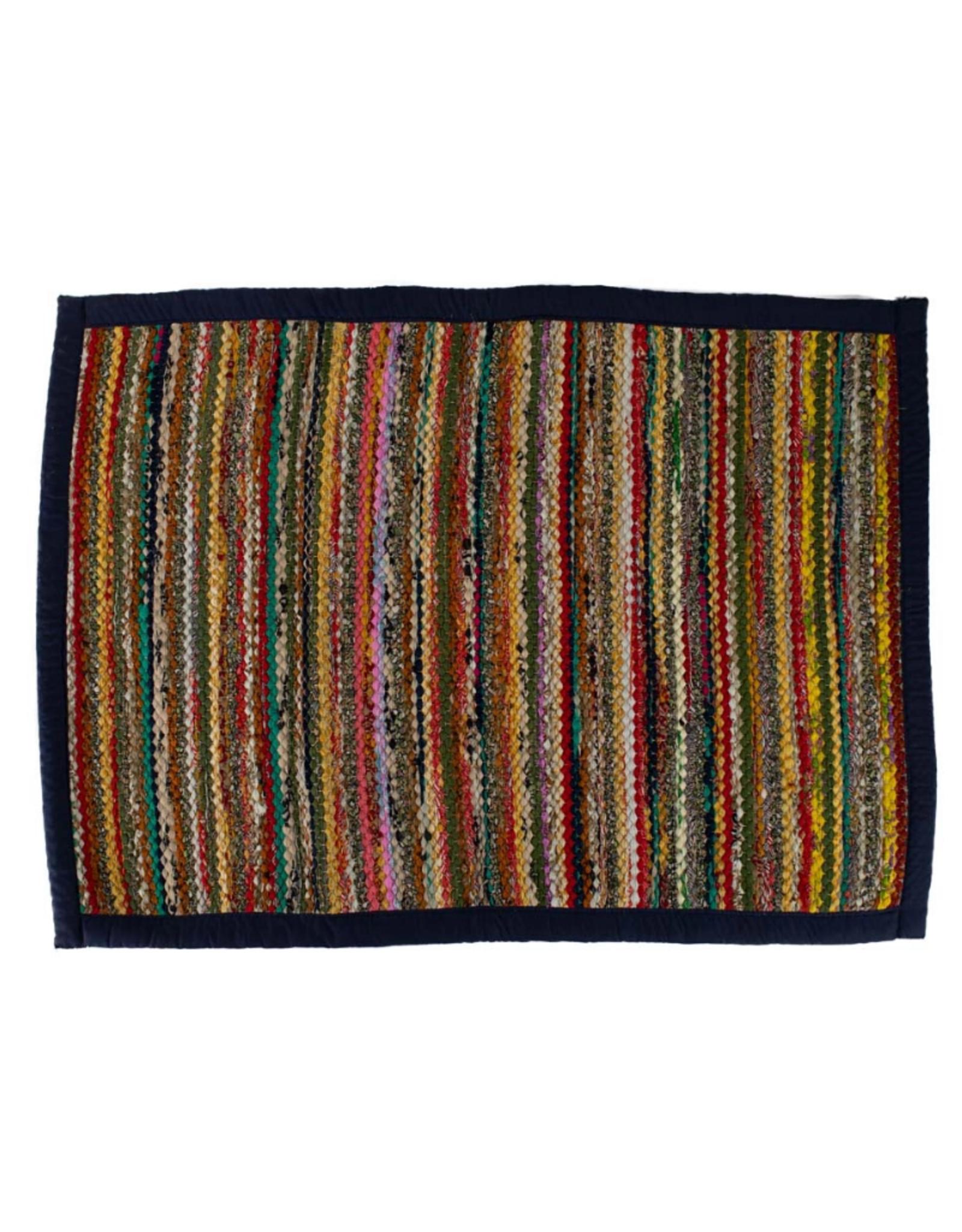 TTV USA Recycled Sari Rug Rectangular