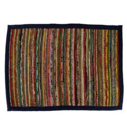 TTV USA Recycled Sari Rug Rectangular