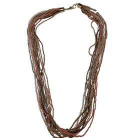 Ten Thousand Villages Pastel Necklace