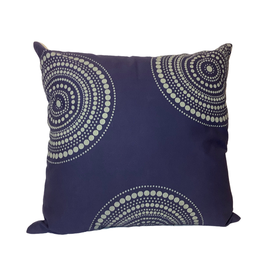 Mandala Cushion Cover - Blue