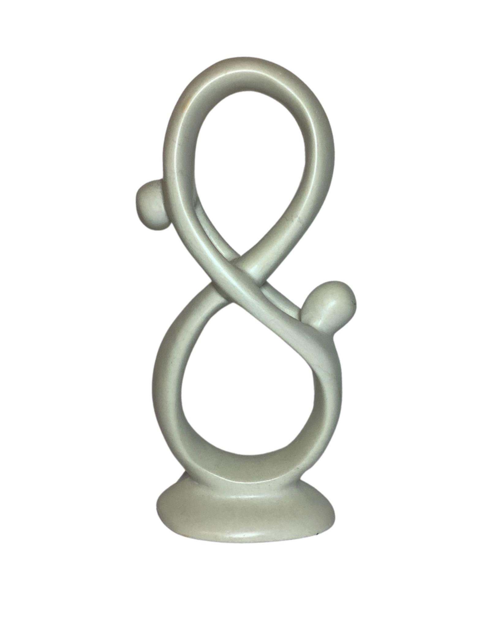 To Infinity Kisii Stone Sculpture