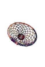 Basket Multicolour Woven Thread/Wire Small
