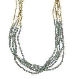 fair anita Grey Goddess Necklace