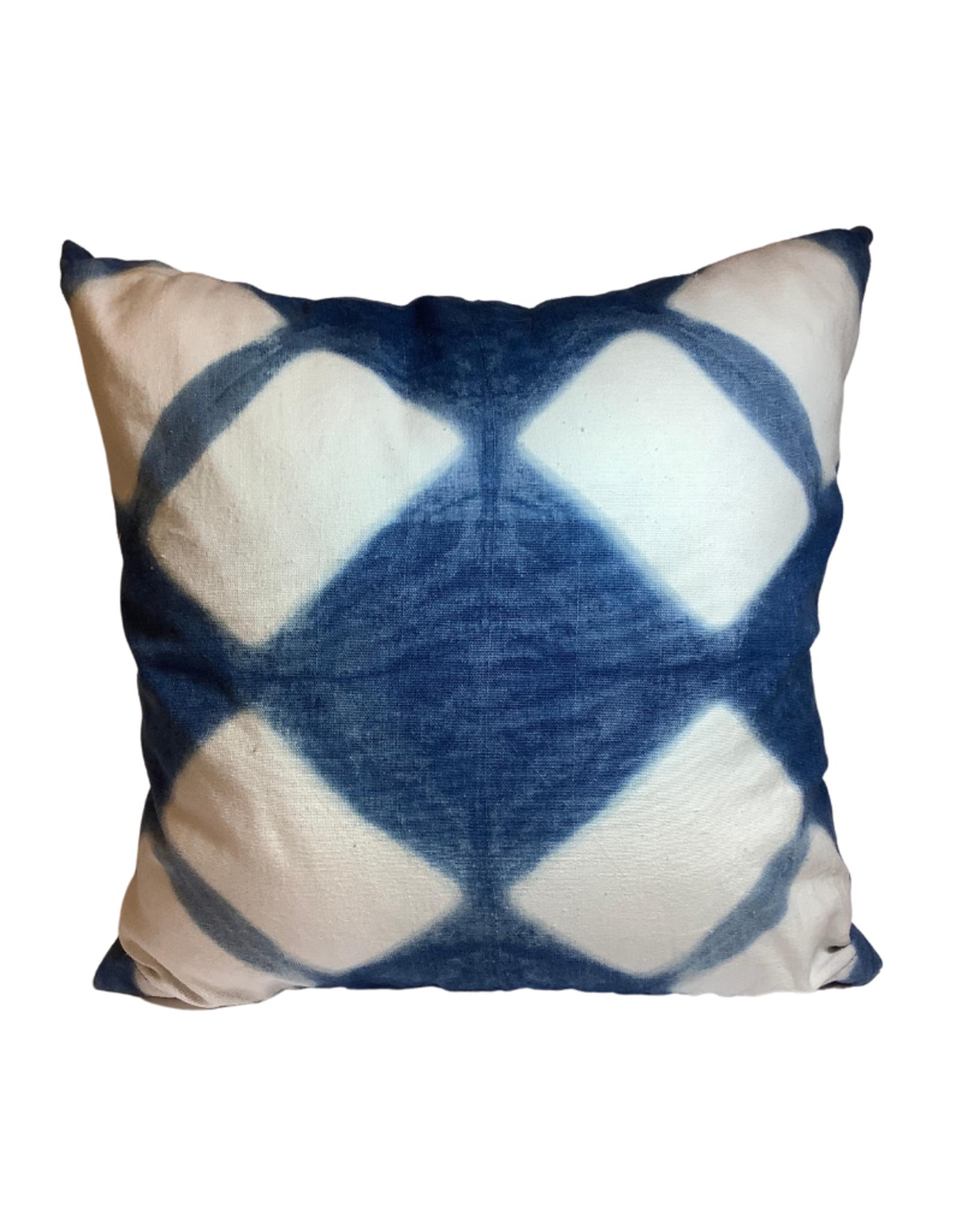 Indigo Burst Cushion