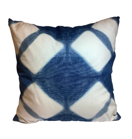 Indigo Burst Cushion