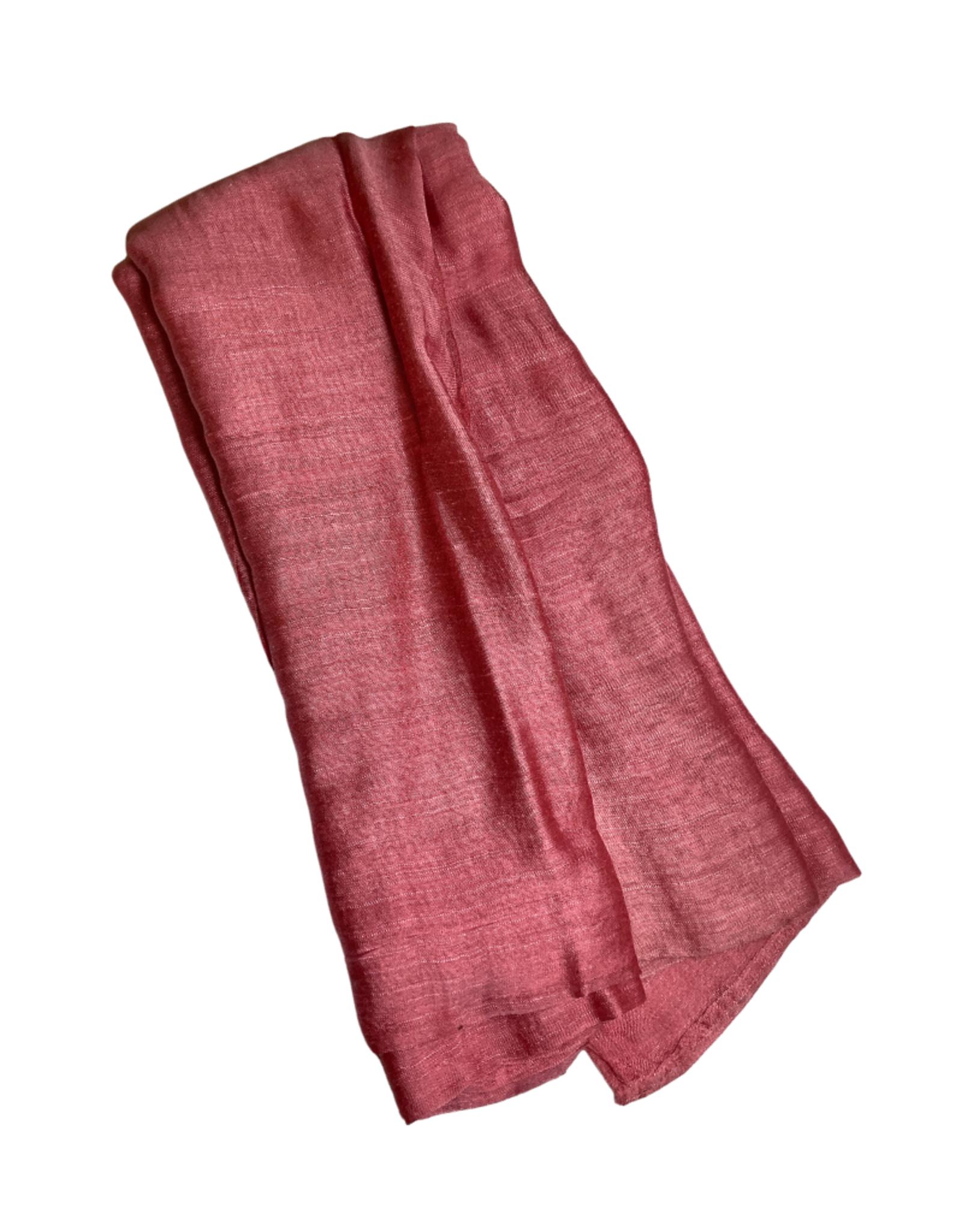 Ten Thousand Villages Rose Silk Infinity Scarf