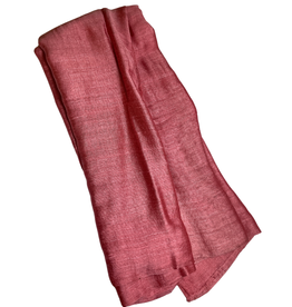 Ten Thousand Villages Rose Silk Infinity Scarf