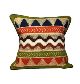 Handmade Geometric Batik Cushion