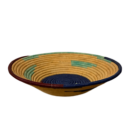 Medium Cobalt Basket Bowl