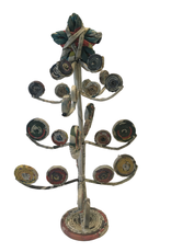 Coiled Paper Curly Branch Christmas Tree (LRG)