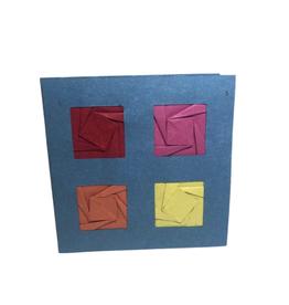 Four Squares Card