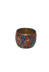 Multicoloured Abstract Bangle