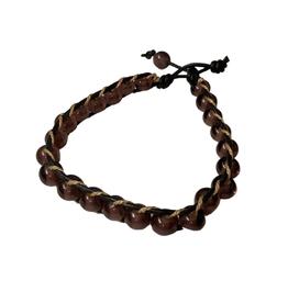 Lilac Glass Bead Bracelet