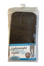 Lightweight Fashion Tights Chocolate Brown (XL)
