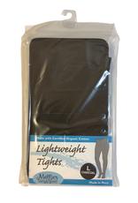 Lightweight Fashion Tights Charcoal Grey (L)