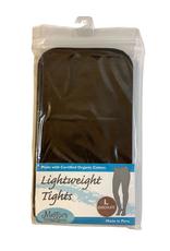 Lightweight Fashion Tights Chocolate Brown (L)