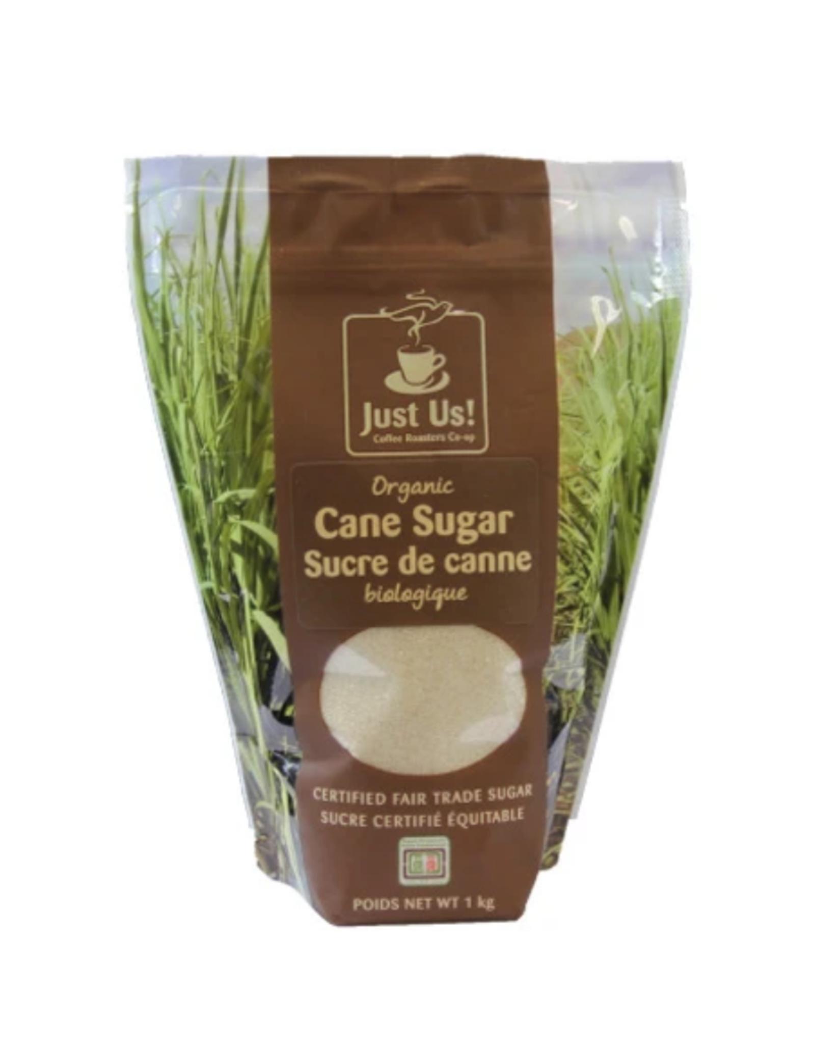 African Essentials Just Us! Organic Cane Sugar, 1kg - Paraguay