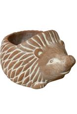 Large Hedgehog Terracotta Planter