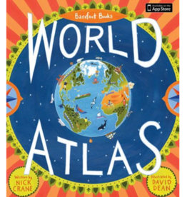 Barefoot Books Book, Children's World Atlas