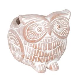 TTV USA Planter, Owl Terracotta