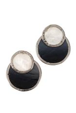 TTV USA Earrings, Convertible Capiz
