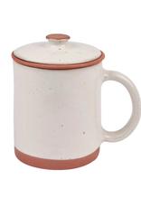 TTV USA Mug, Speckled with Strainer