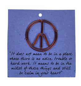 TTV USA Bookmark, Peace