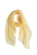 TTV USA Scarf, Buttercup Silk Ikat