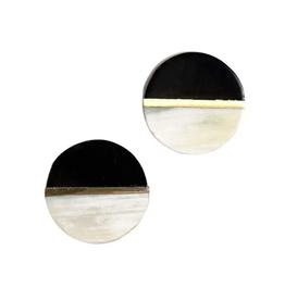 TTV USA Earrings, Shadow Post