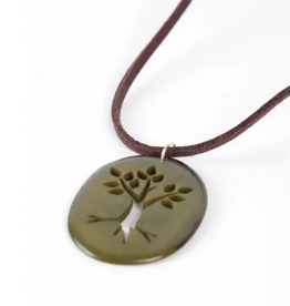 TTV USA Necklace, Tagua Tree of Life