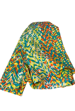 Global Crafts Scarf, Abstract Bright Cotton