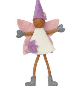 Global Crafts Cocoa Felt Tooth Fairy Pillow - Nepal