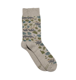 Conscious Step Socks that Protect Sloths (M)