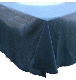 "Ten Thousand Villages Tablecloth, Blue Dipped Round, 218cmD/86""D"