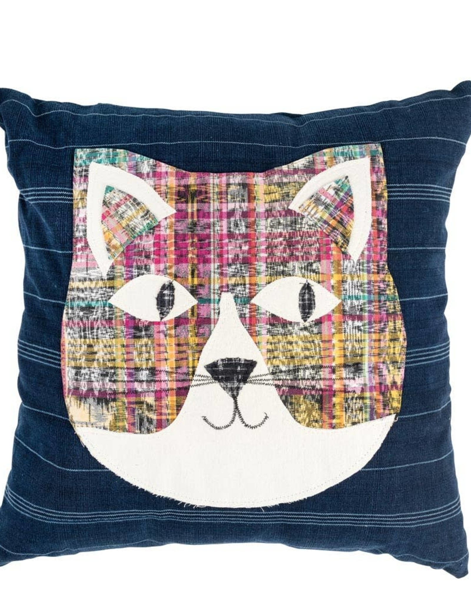TTV USA Heads or Tails Cat Pillow