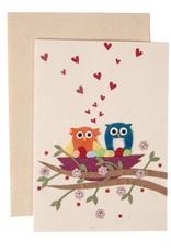 TTV USA Owls In Love Card